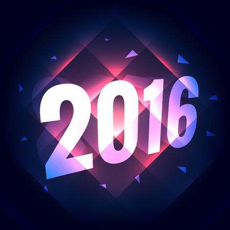 shiny background: stylish 2016 shiny light background