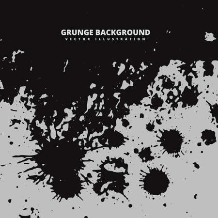 ink splatter: dark grunge ink splatter background