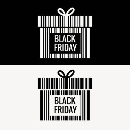 weekdays: black friday gift box design