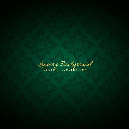 florish: beautiful green luxury background