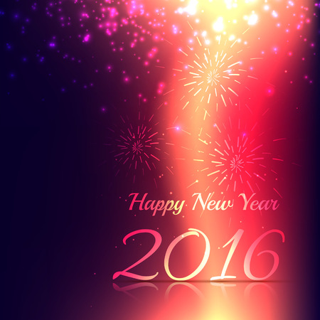 year: new year greeting card