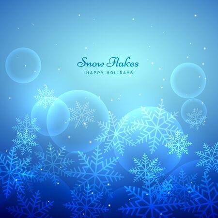 xmas background: xmas festival snowflakes background