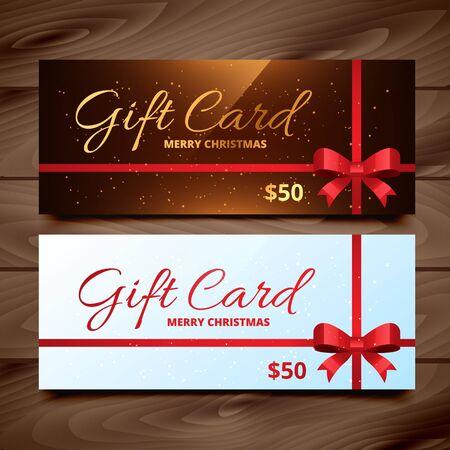 seasonal: two seasonal gift card
