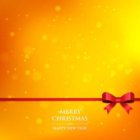 xmas background: orange xmas season background