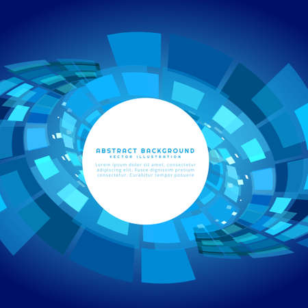 technology background: blue technology abstract background