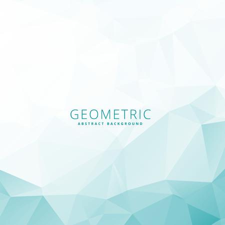 low: low poly geometric template