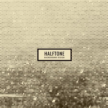halftone background: halftone background
