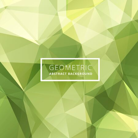 green background: green abstract poly background