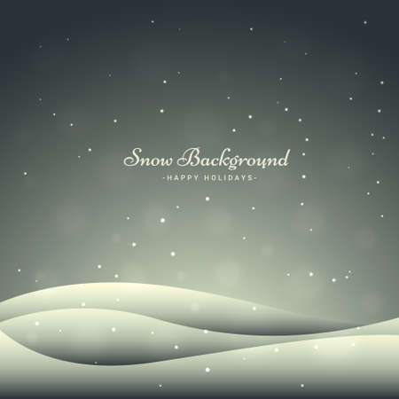icy: snowfall background