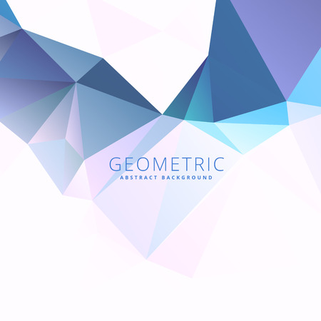 low: blue low poly background Illustration