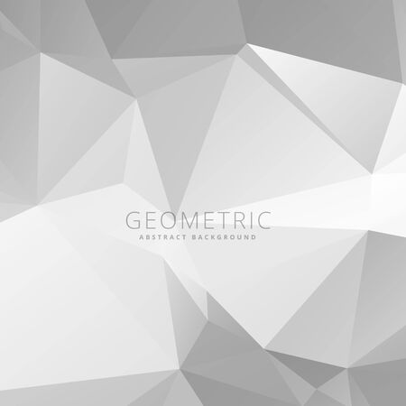 gray: gray polygonal background Illustration