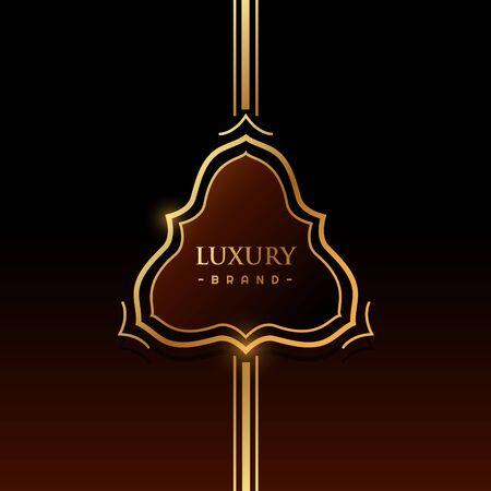 brand label: luxury brand label