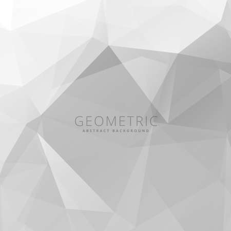 gray: light gray polygonal background