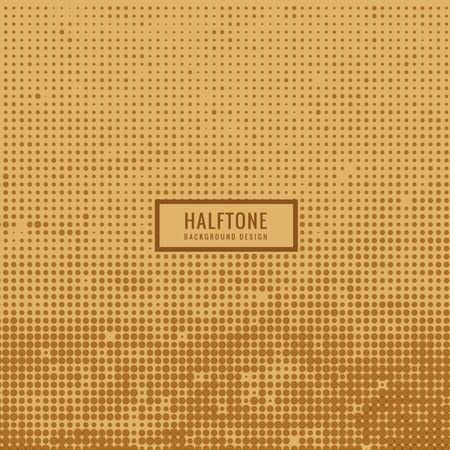 halftone background: old dirty halftone background