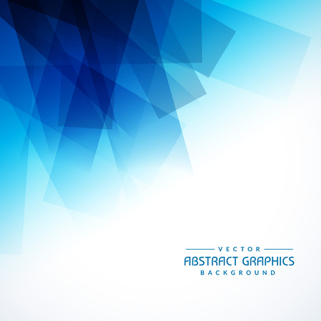 blue background: abstract blue shapes background