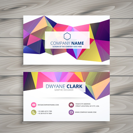 business card: creative business card template