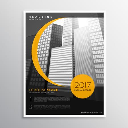 magazine template: business magazine cover template design