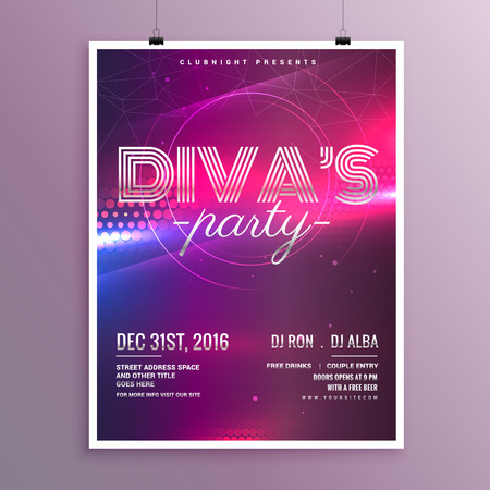 remix: music party flyer template in a4 size