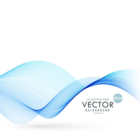 smooth: blue smooth wave background illustration