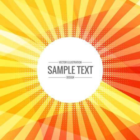burst background: bright yellow abstract background with rays