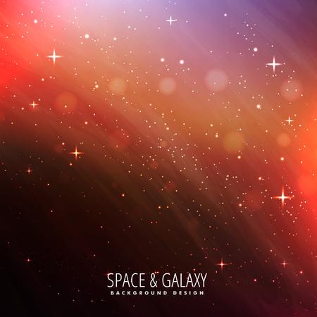 milkyway: night sky universe background Illustration
