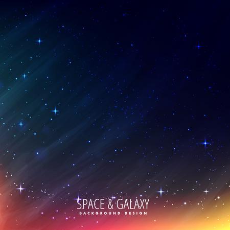 milkyway: night universe background