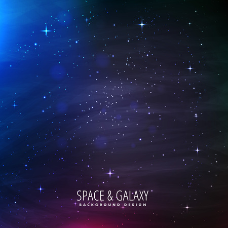 milkyway: universe background with starlights