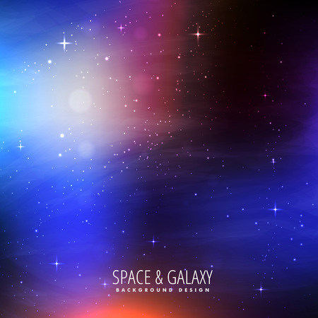 milkyway: bright colors space background