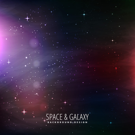 milkyway: space and galaxy background