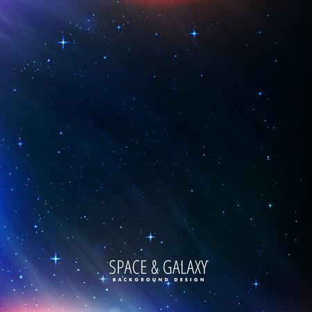 Nachthimmel Universum Hintergrund Vektorgrafik