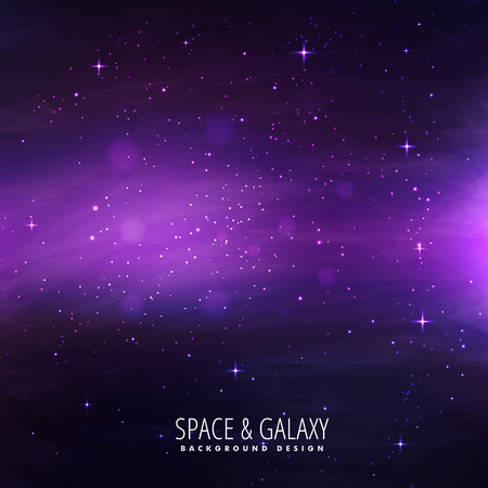 milkyway: space background Illustration