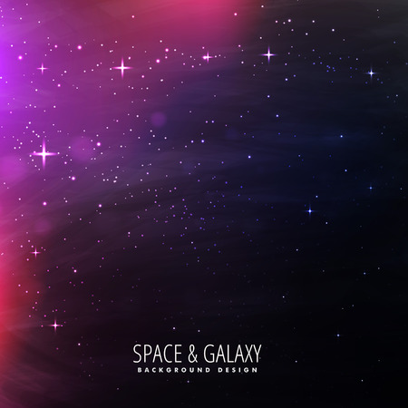 milkyway: space lights background