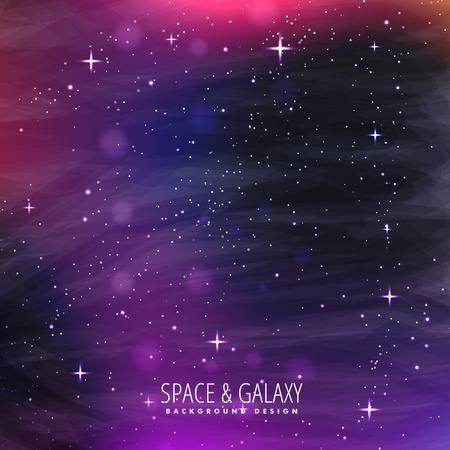 milkyway: galaxy background design
