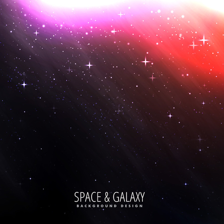 milkyway: space background with bright starlight