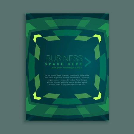 magazine design: business magazine cover template design