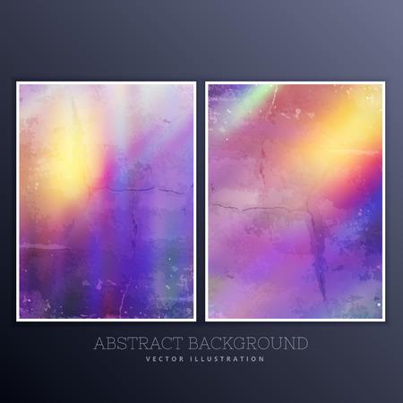 textured: vibrant textured background set