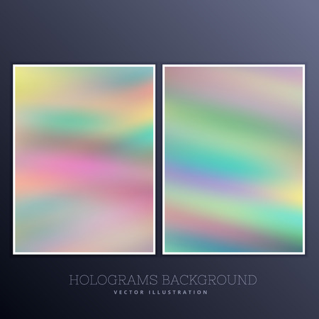 holography: set of holographic background