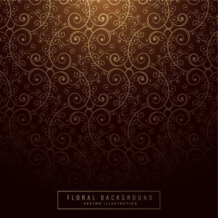 shiny background: shiny vintage floral background