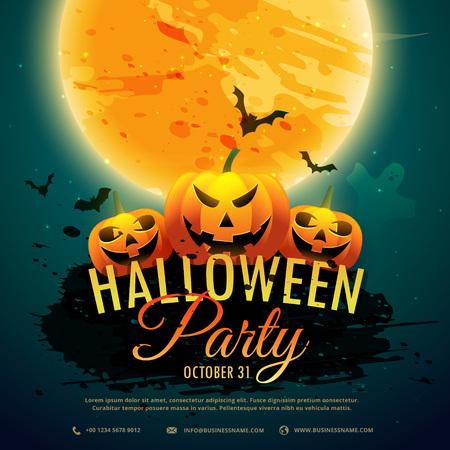 halloween background: halloween festival party background Illustration
