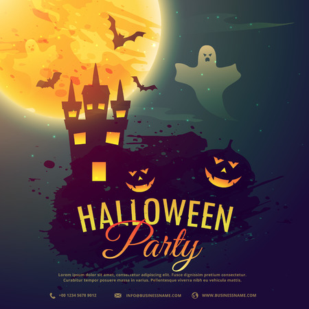 party background: halloween celebration party background