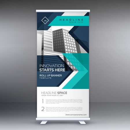 display: presentation roll up display banner