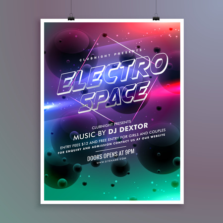 event party: party event invitation flyer template