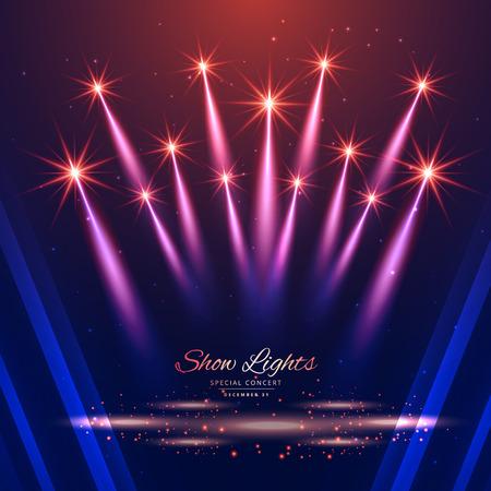 beautiful show lights background