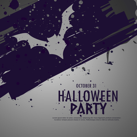 party background: grunge halloween party celebbration background