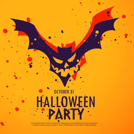 party background: happy halloween party background illustration Illustration
