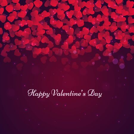 day: beautiful valentines day card