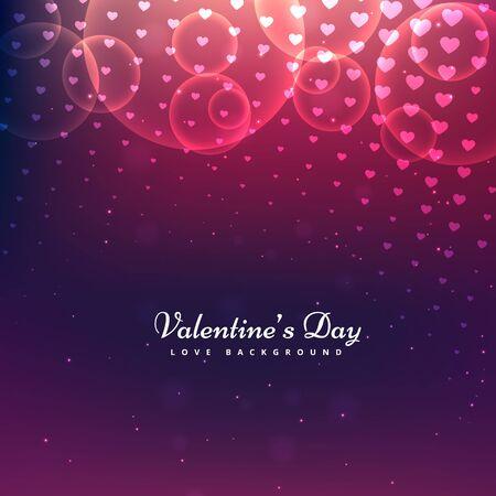 day: shiny valentines day background