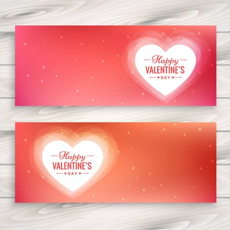 day: valentines day love banners