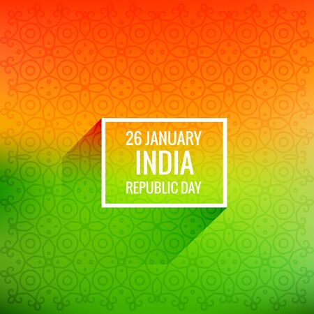 26 january: 26 january republic day Illustration