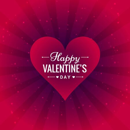 day: valentines day greeting card Illustration